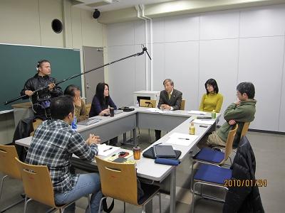 NHK取材の様子1