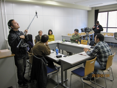NHK取材の様子2