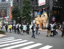 共同親権法制化とハーグ条約批准を求めるデモ2