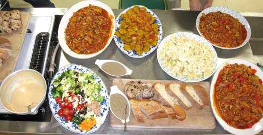 クッキングイベント-完成した料理