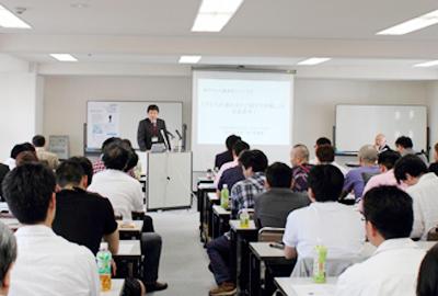 [写真2] 代表 藤田尚寿の挨拶